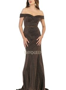 Fitted formal gown,evening bridesmaid party dress